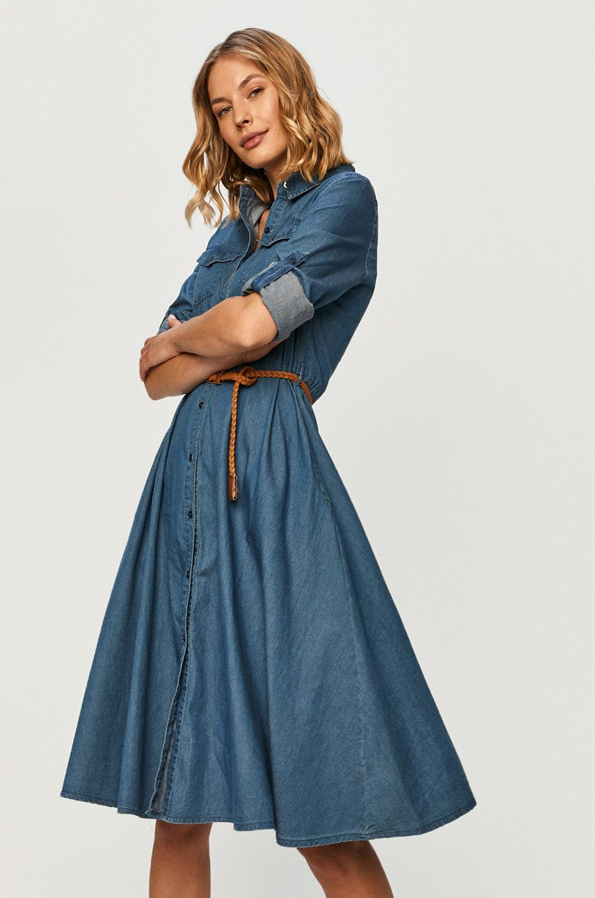 Answear - Rochie jeans Answear Lab
