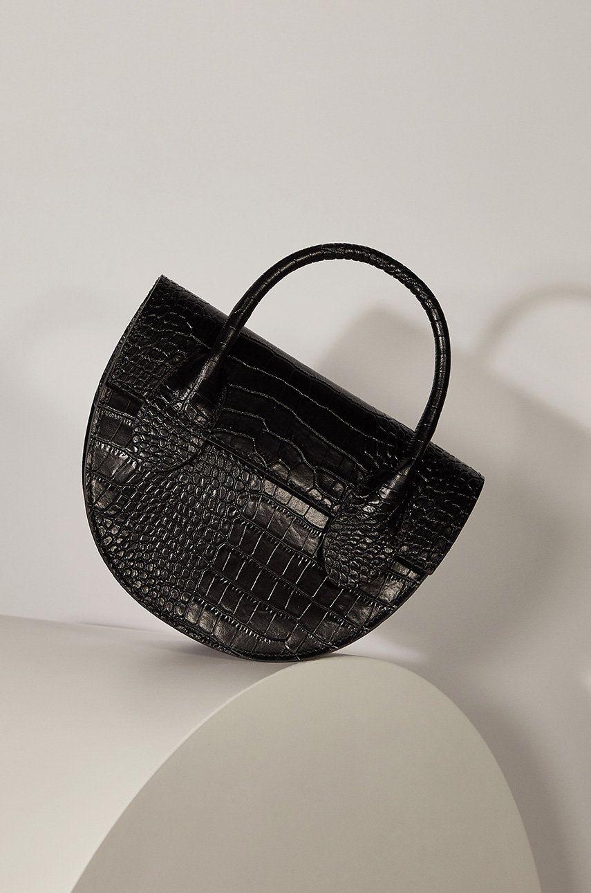 Answear - Poseta de piele answear.LAB limited collection