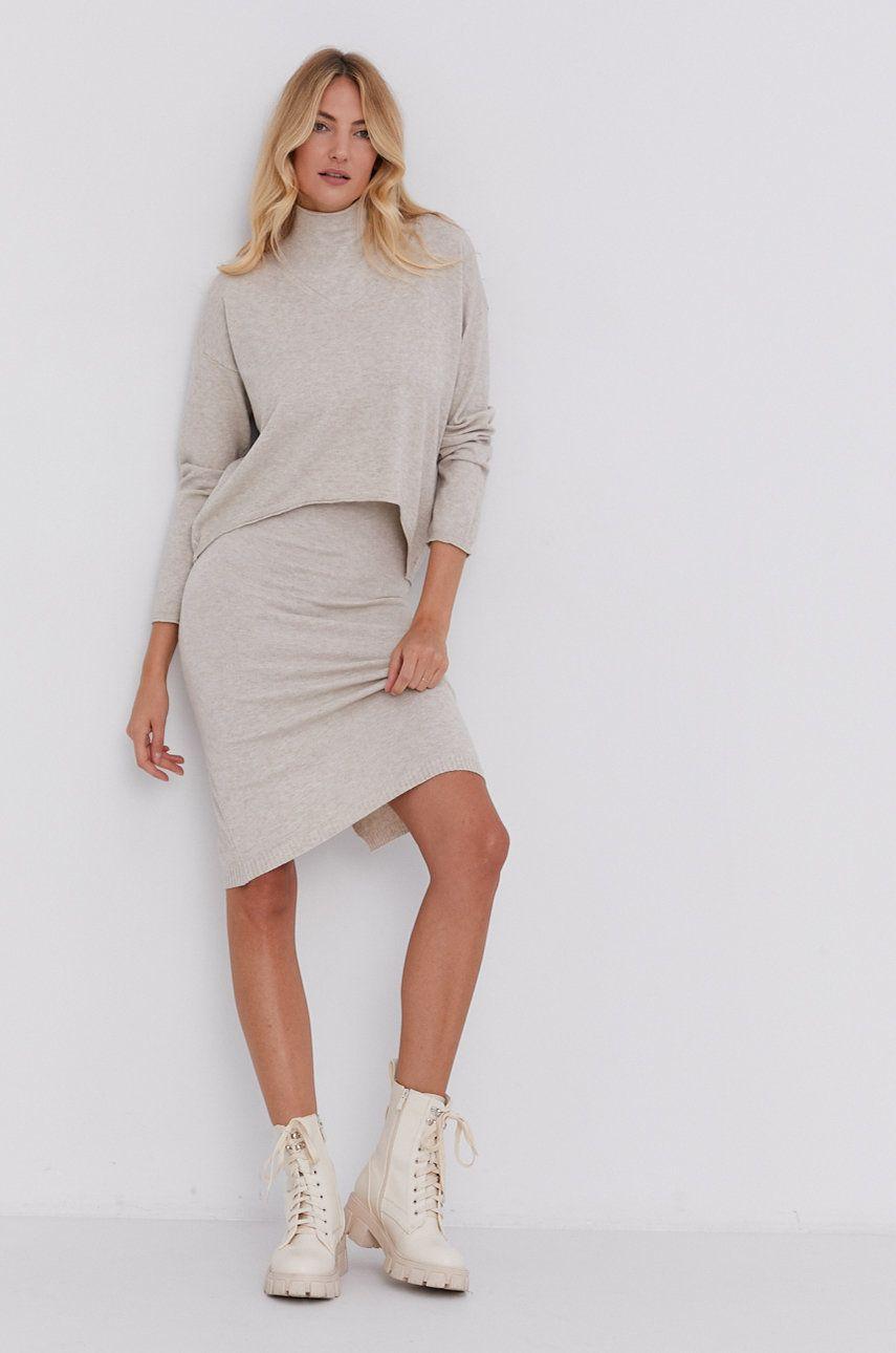 Answear Lab - Rochie si pulover