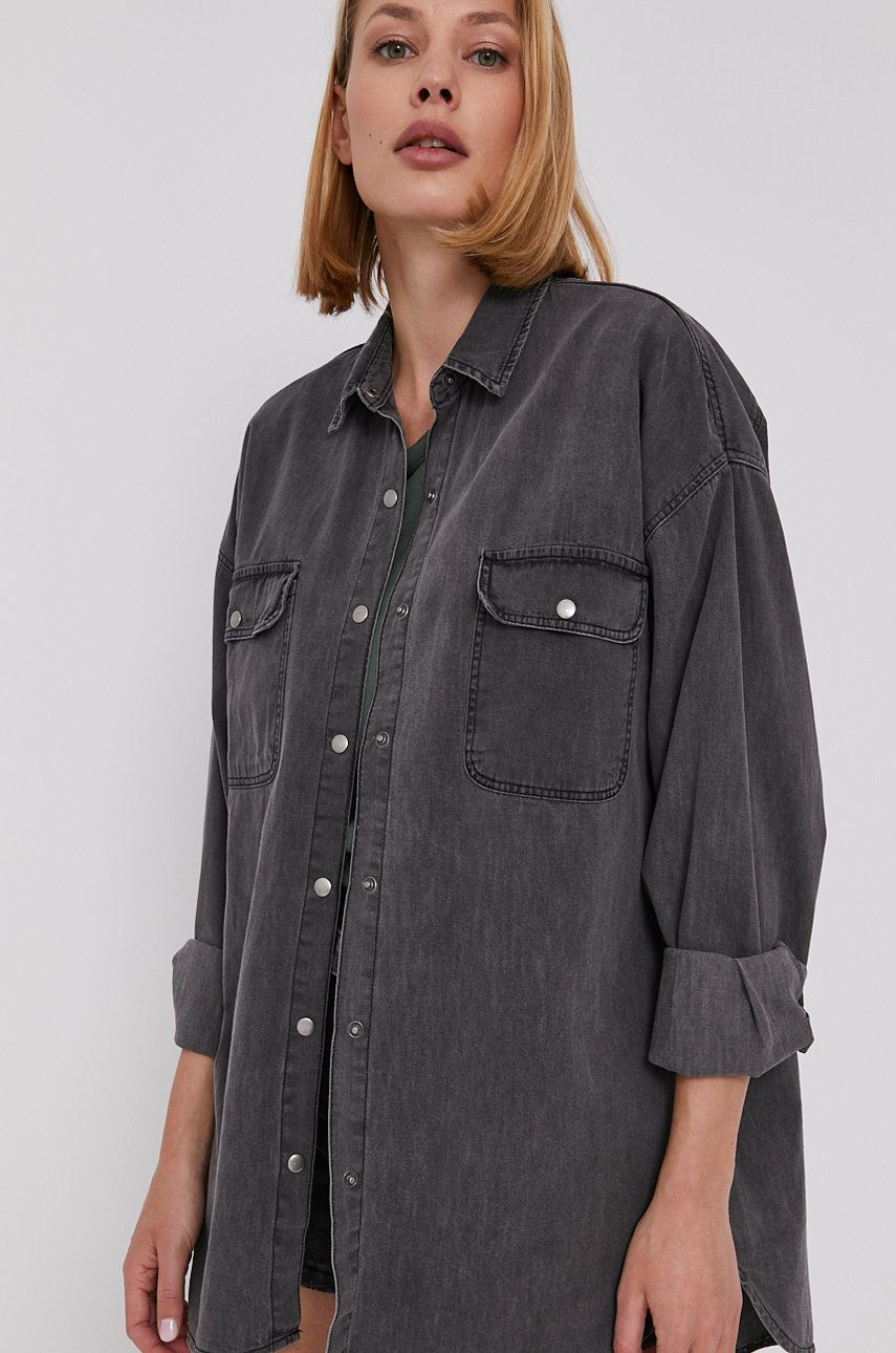 Answear Lab - Camasa jeans - medelin.ro