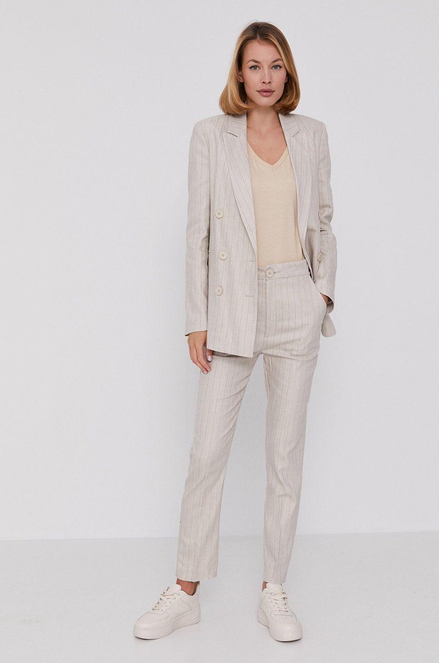 Answear Lab - Compleu - jacheta si pantaloni