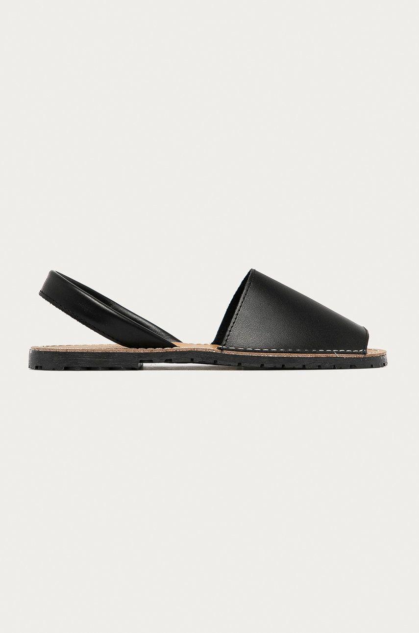 Answear Lab - Sandale de piele Buonarotti