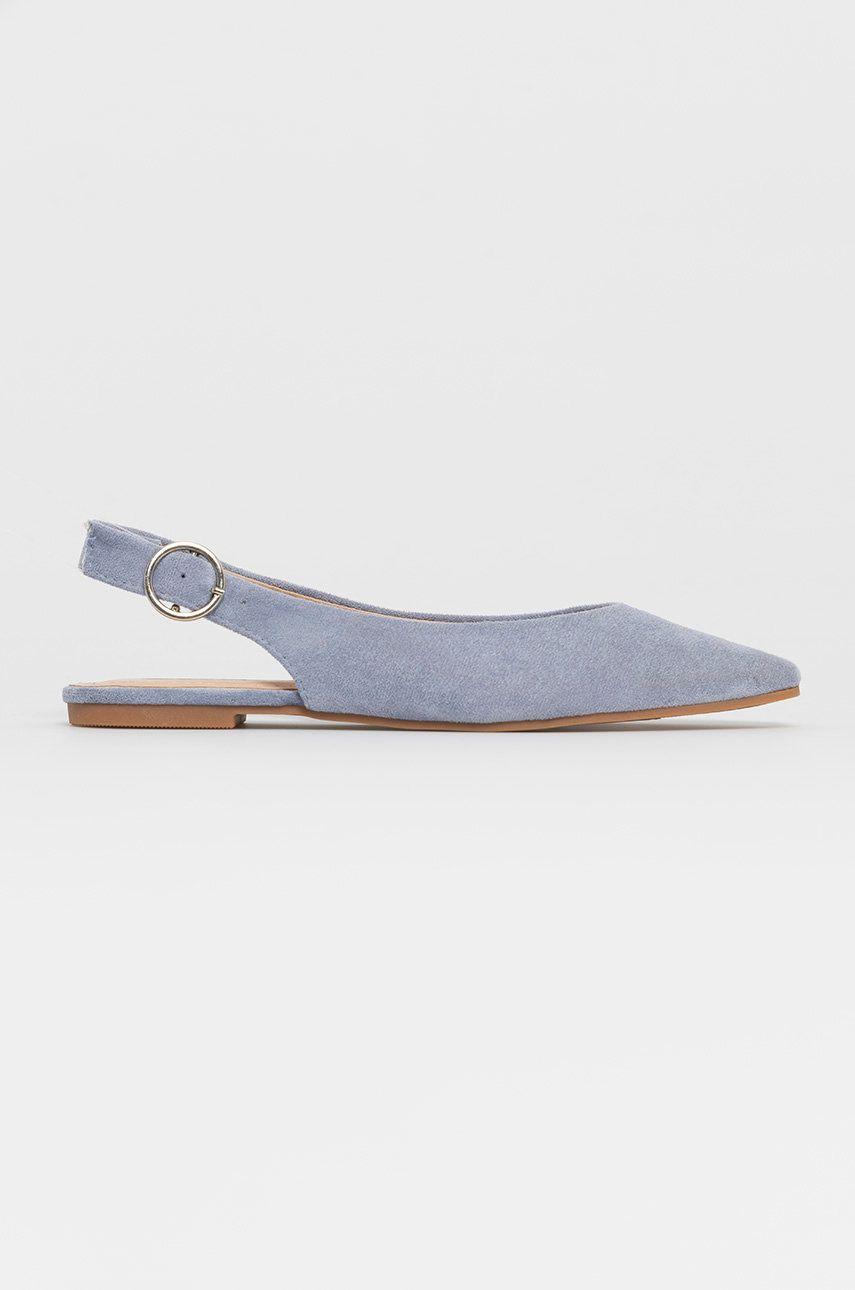 Balerini dama Answear Lab Seastar albastri