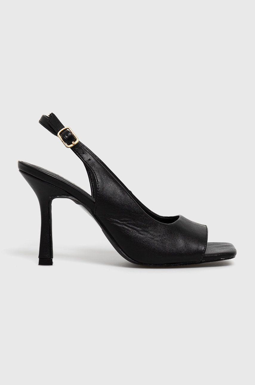 Answear Lab - Pantofi cu toc La Bottine