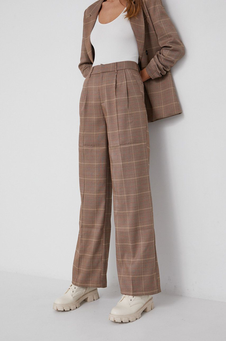 Answear Lab - Pantaloni din lana