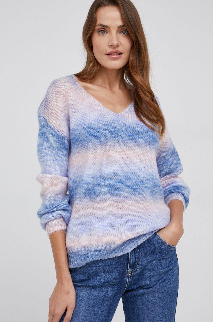 Answear Lab - Pulover din amestec de lana