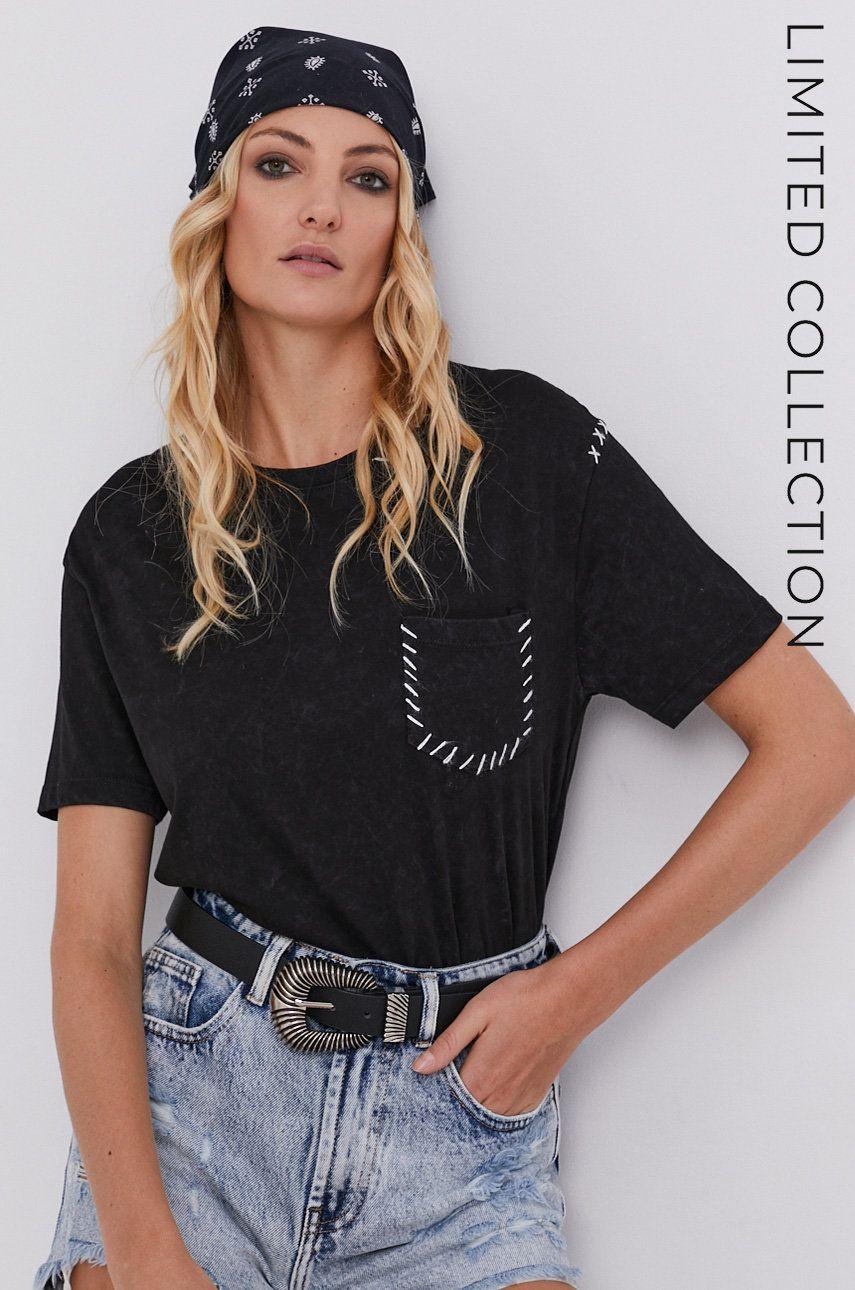Tricou answear.LAB x colectia limitata GIRL POWER, model HAND DYED