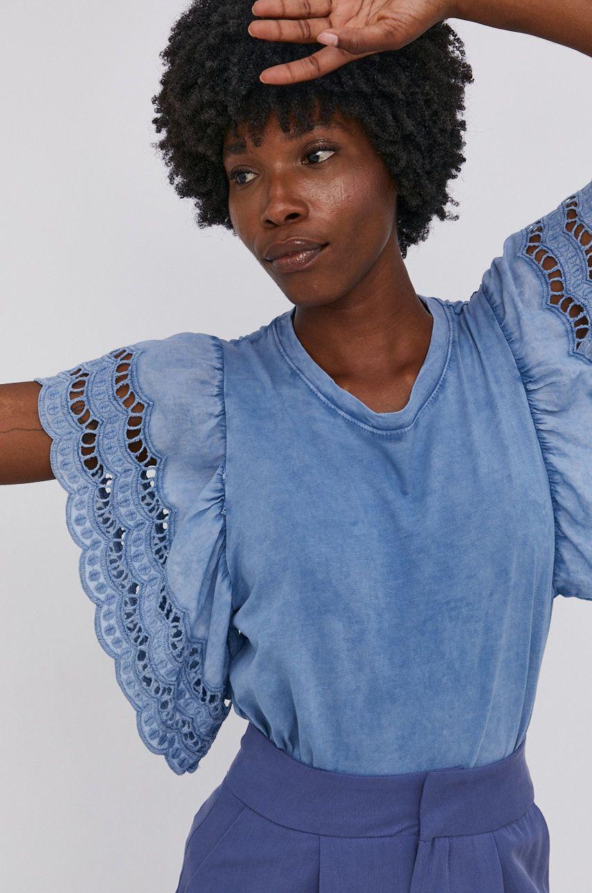 Answear Lab - Tricou din bumbac Garment Dyed