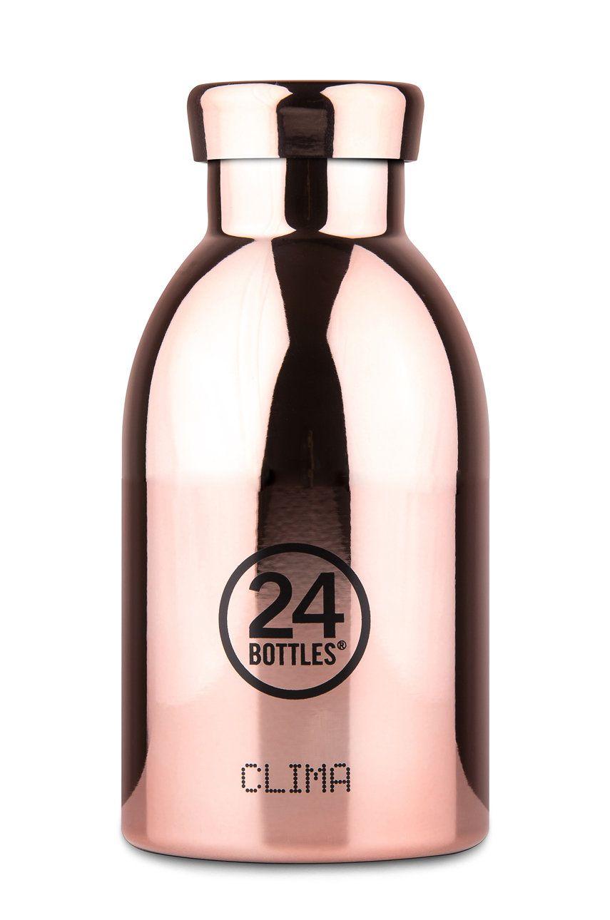 24bottles - Sticla termica Clima Rose Gold 330ml imagine answear.ro