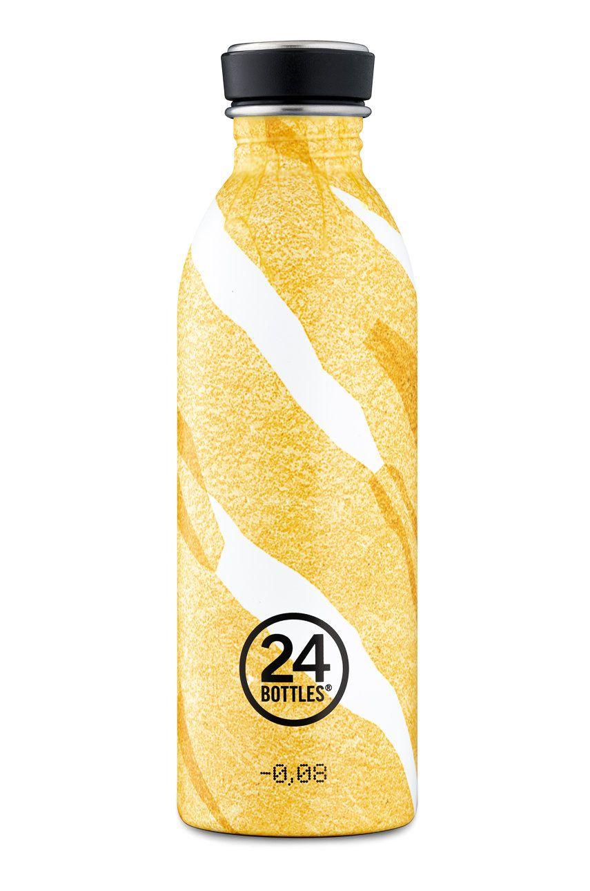 24bottles - Sticla Urban Bottle Amber Deco 500ml imagine answear.ro