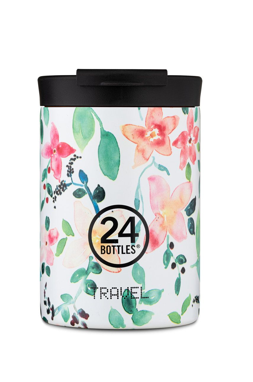 24bottles - Cana termica Travel Tumbler Little Buds 350ml imagine answear.ro