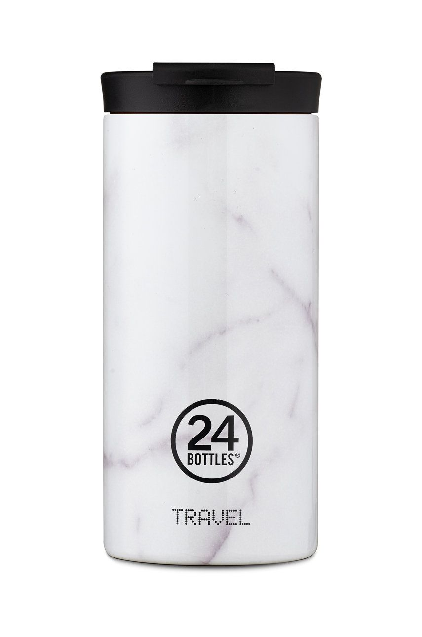 24bottles - Cana termica Travel Tumbler Carrara 600ml imagine answear.ro