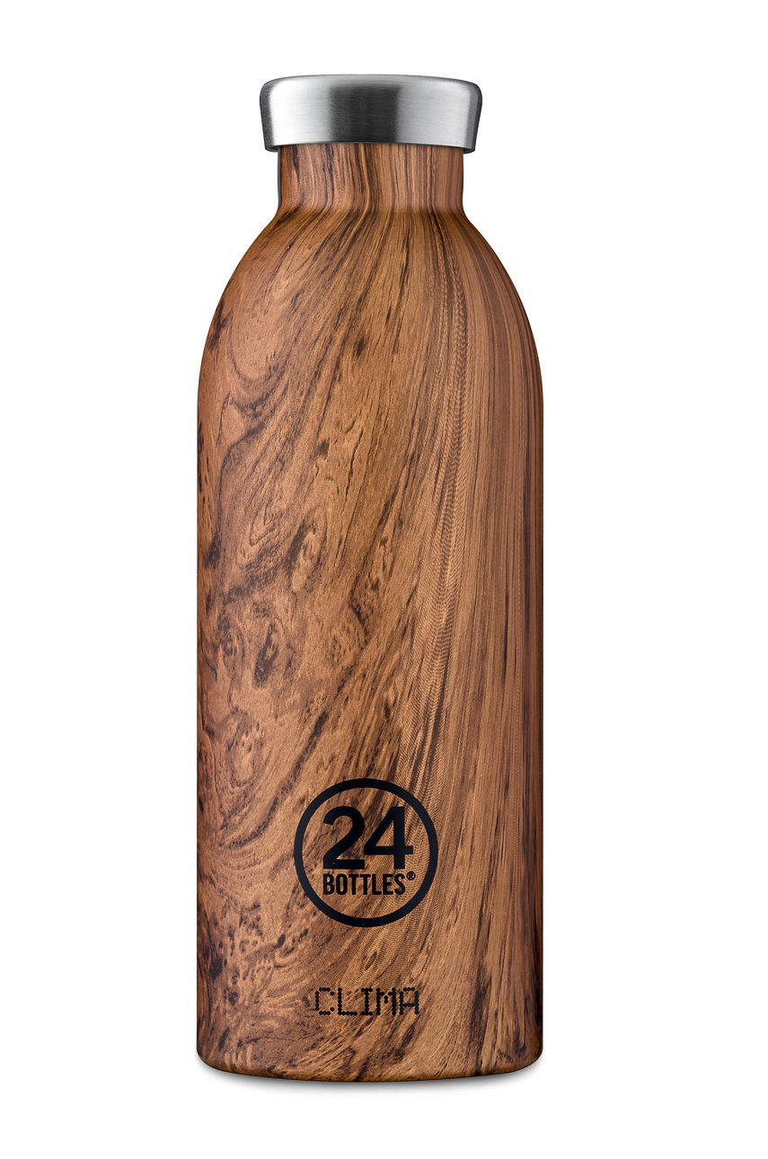 24bottles - Sticla termica Clima Sequoia Wood 500ml imagine answear.ro