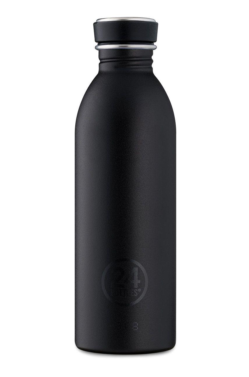 24bottles - Sticla Urban Bottle Tuxedo Black 500ml imagine answear.ro