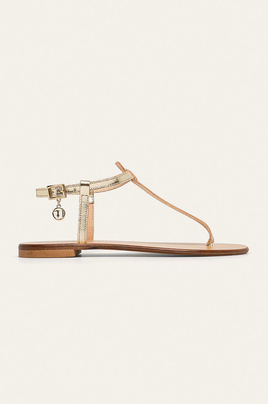 Trussardi Jeans - Sandale de piele imagine