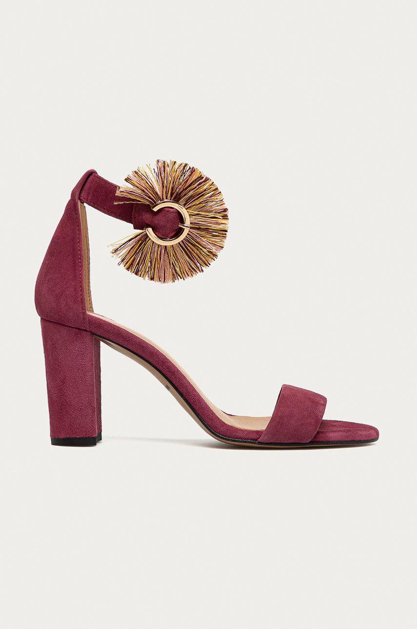 Wojas - Sandale din piele intoarsa