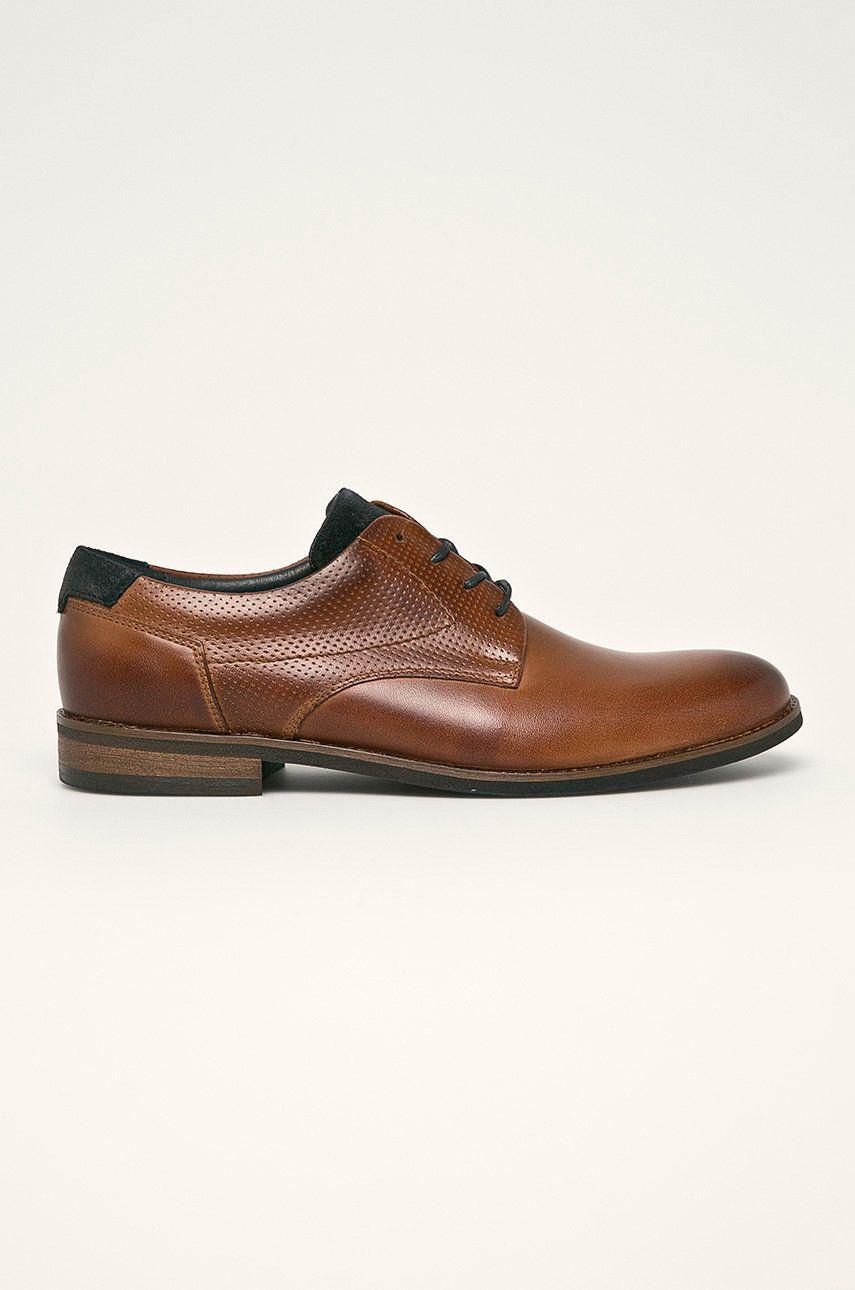 Wojas - Pantofi de piele poza answear