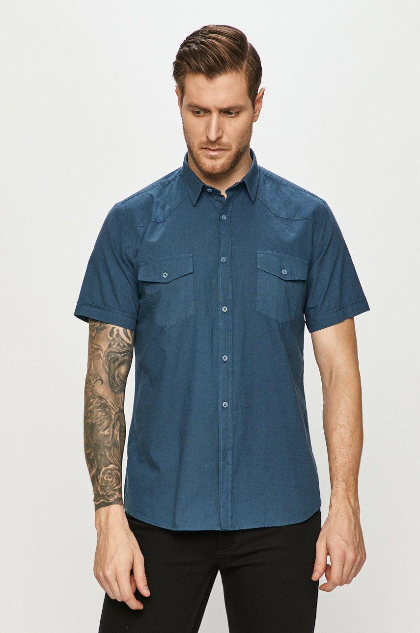 Cross Jeans - Camasa din bumbac imagine answear.ro