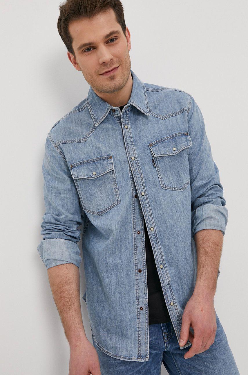Cross Jeans - Camasa jeans imagine answear.ro