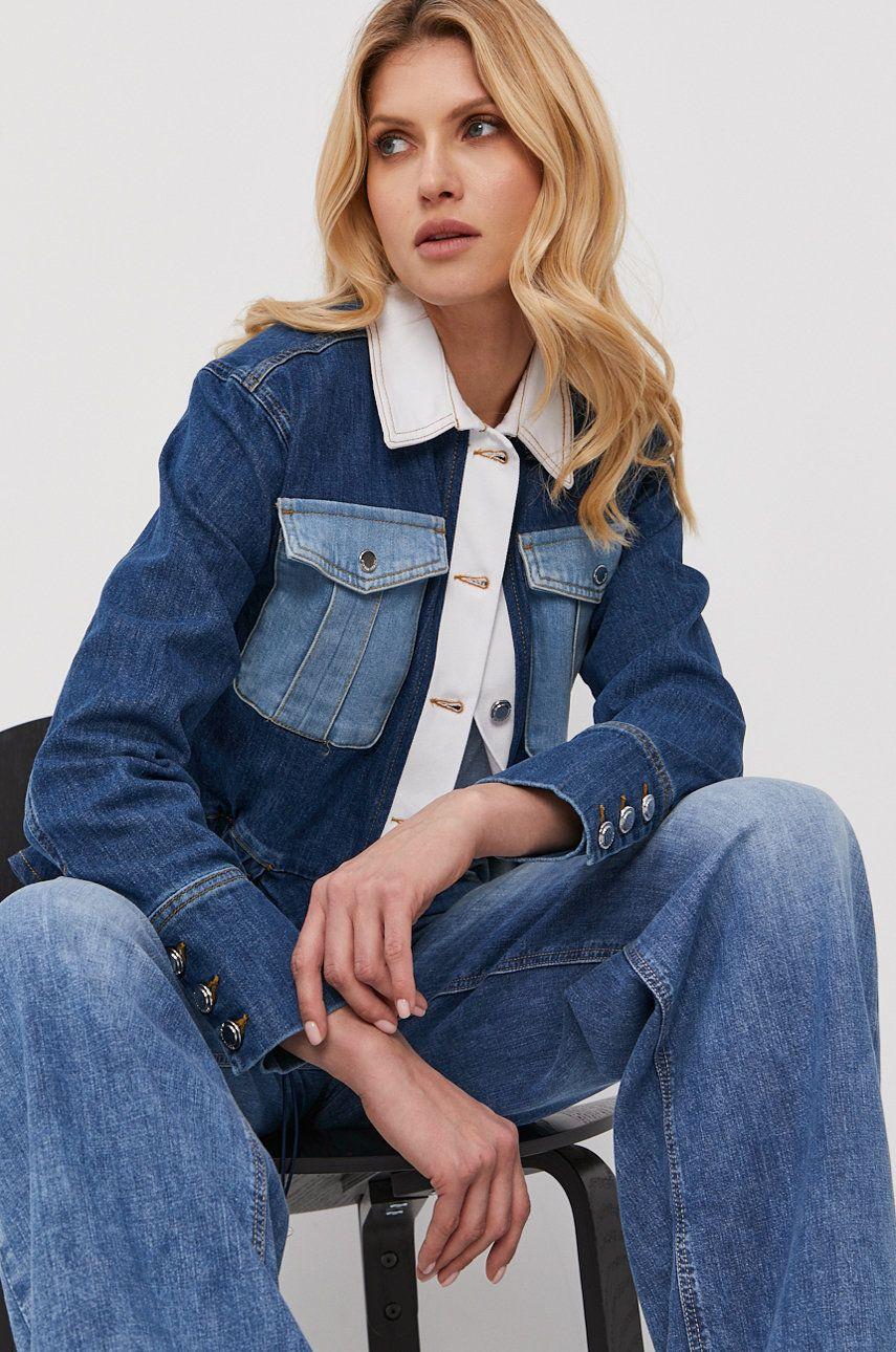 Silvian Heach - Geaca jeans imagine answear.ro