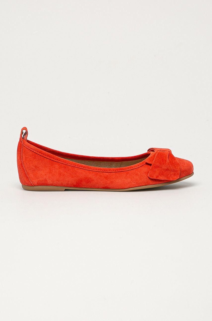Wojas - Balerini de piele answear.ro
