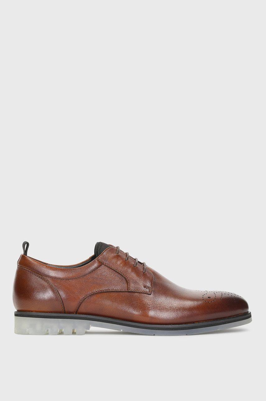 Kazar Studio - Pantofi de piele answear.ro