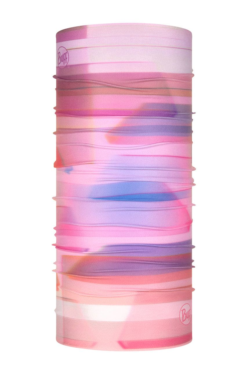Buff - Fular impletit Pale Pink imagine answear.ro