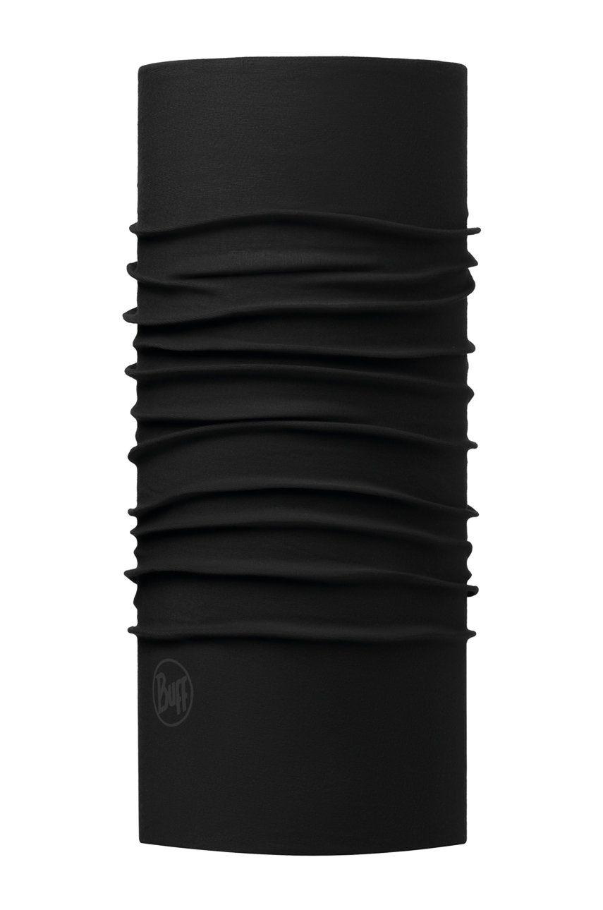 Buff - Fular impletit Solid Black imagine answear.ro