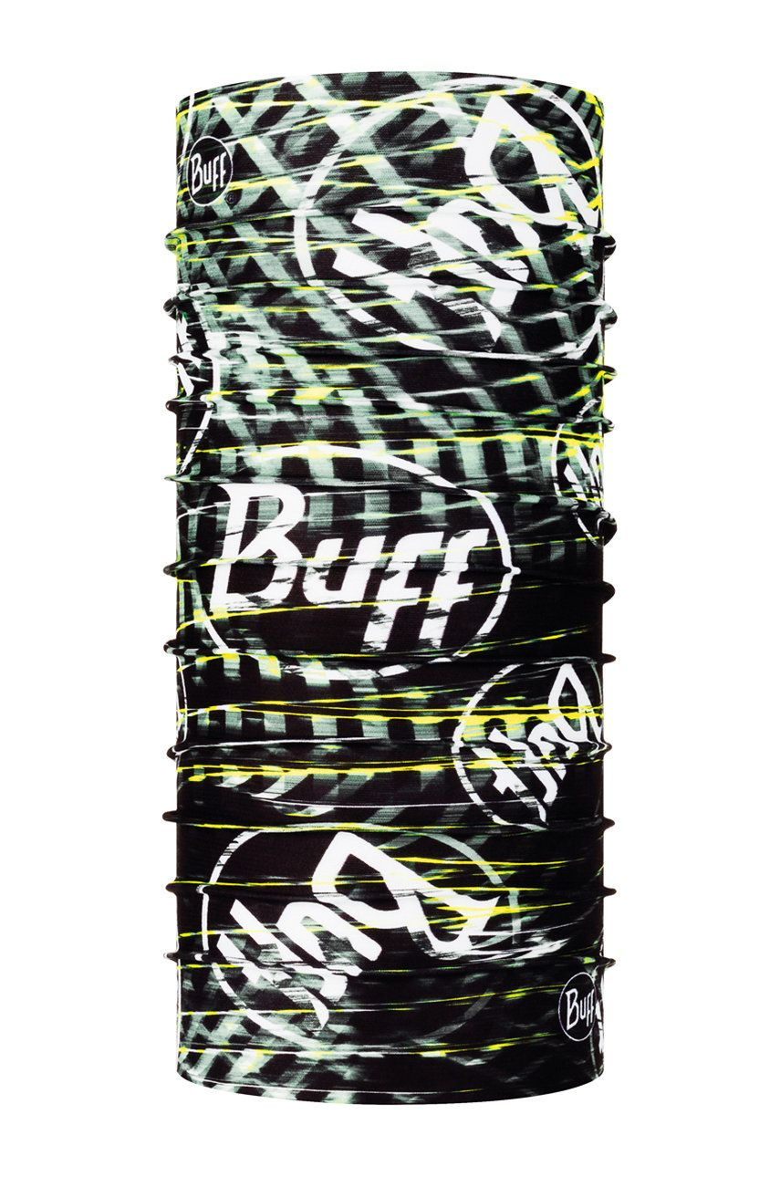Buff - Fular impletit Ulnar Black imagine answear.ro