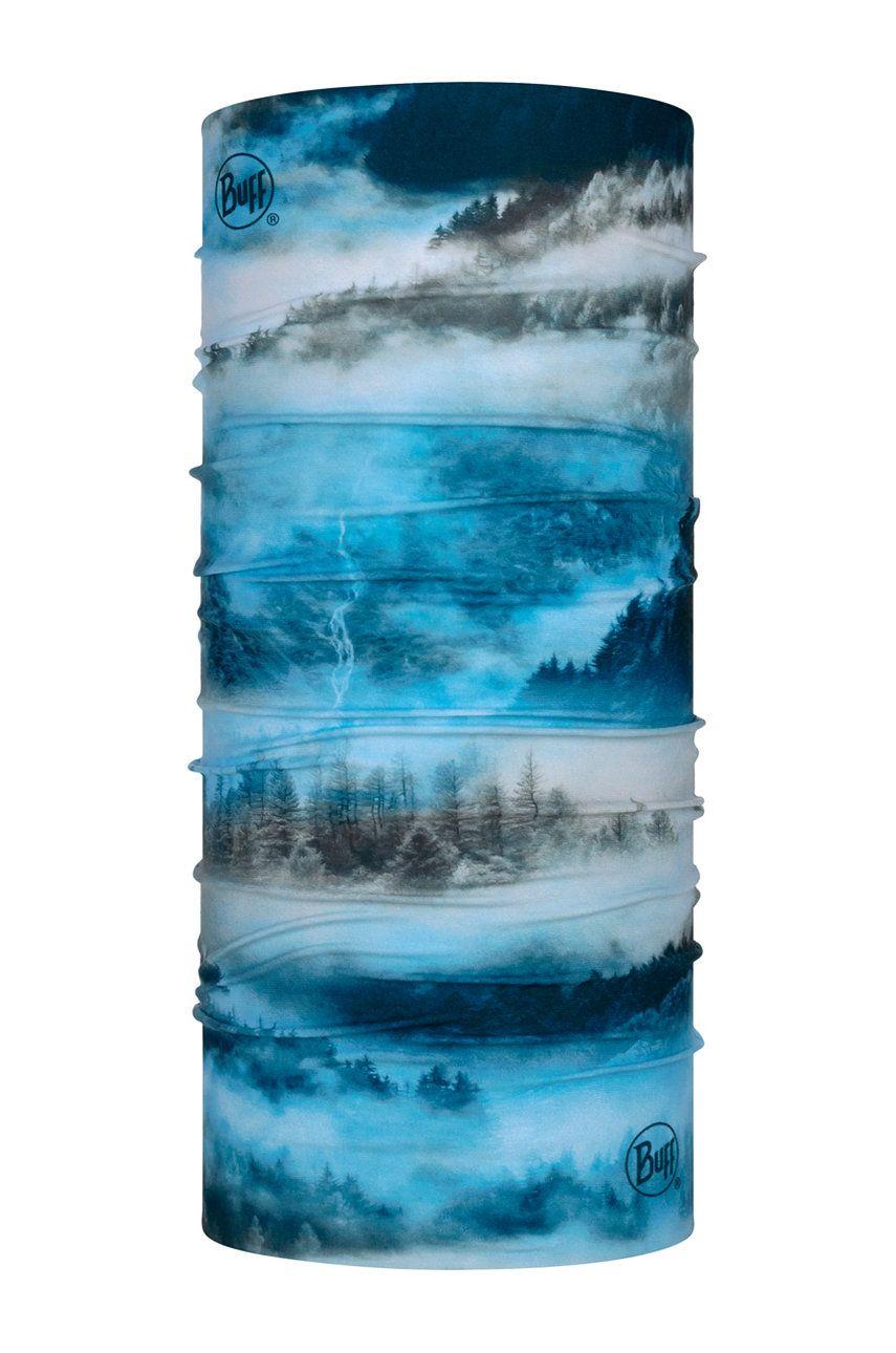 Buff - Fular impletit Hollow Blue imagine answear.ro