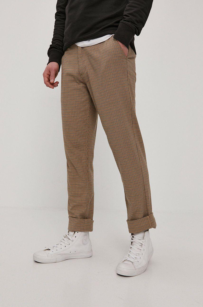 Brixton - Pantaloni imagine answear.ro