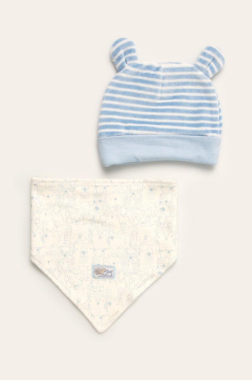 Blue Seven - Detská čiapka a šál