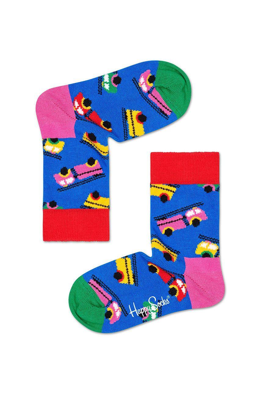 Happy Socks - Detské ponožky Fire Truck