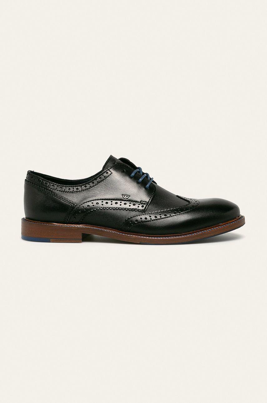 Wojas - Pantofi de piele imagine 2020