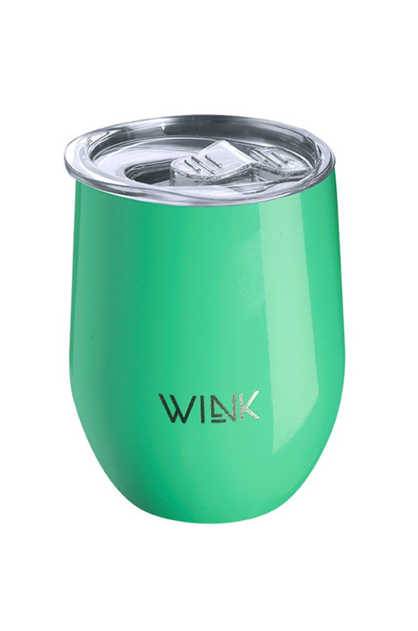Wink Bottle - Cana termica TUMBLER EMERALD imagine