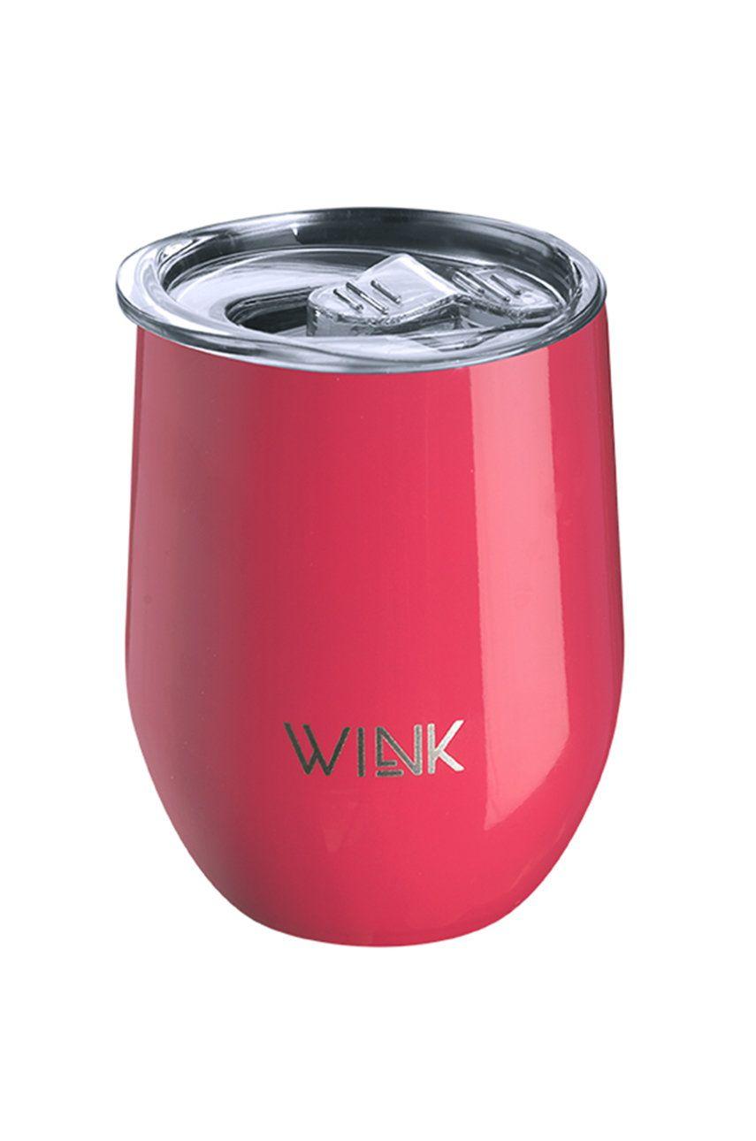 Wink Bottle - Cana termica TUMBLER RASPBERRY imagine
