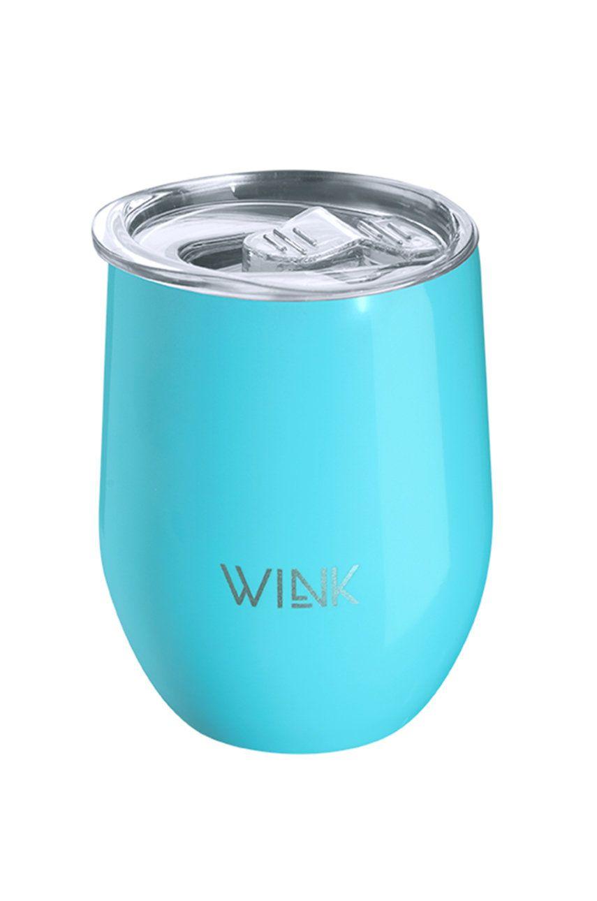 Wink Bottle - Cana termica TUMBLER SKY BLUE imagine