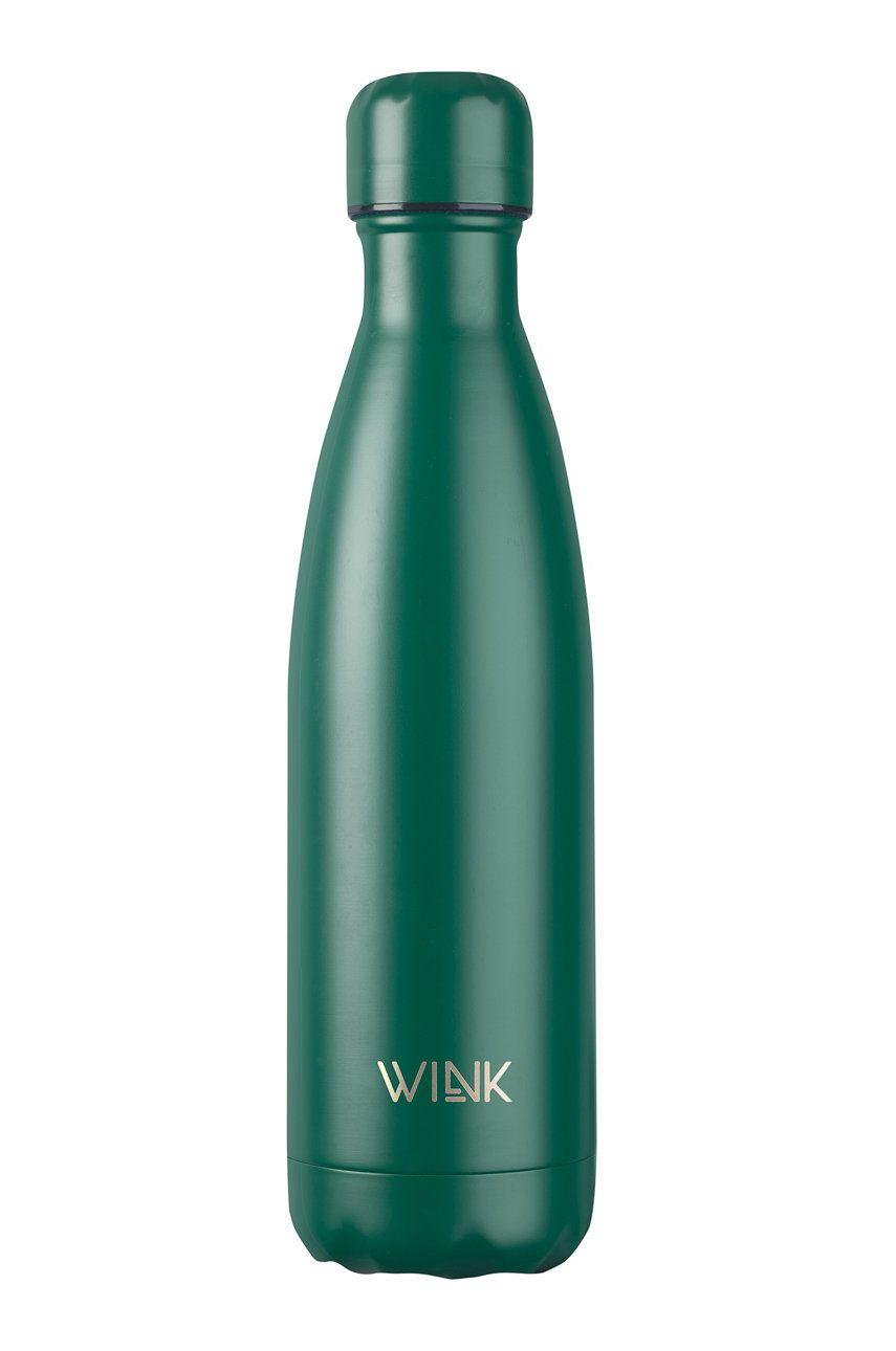 Wink Bottle - Sticla termica Dark Green imagine