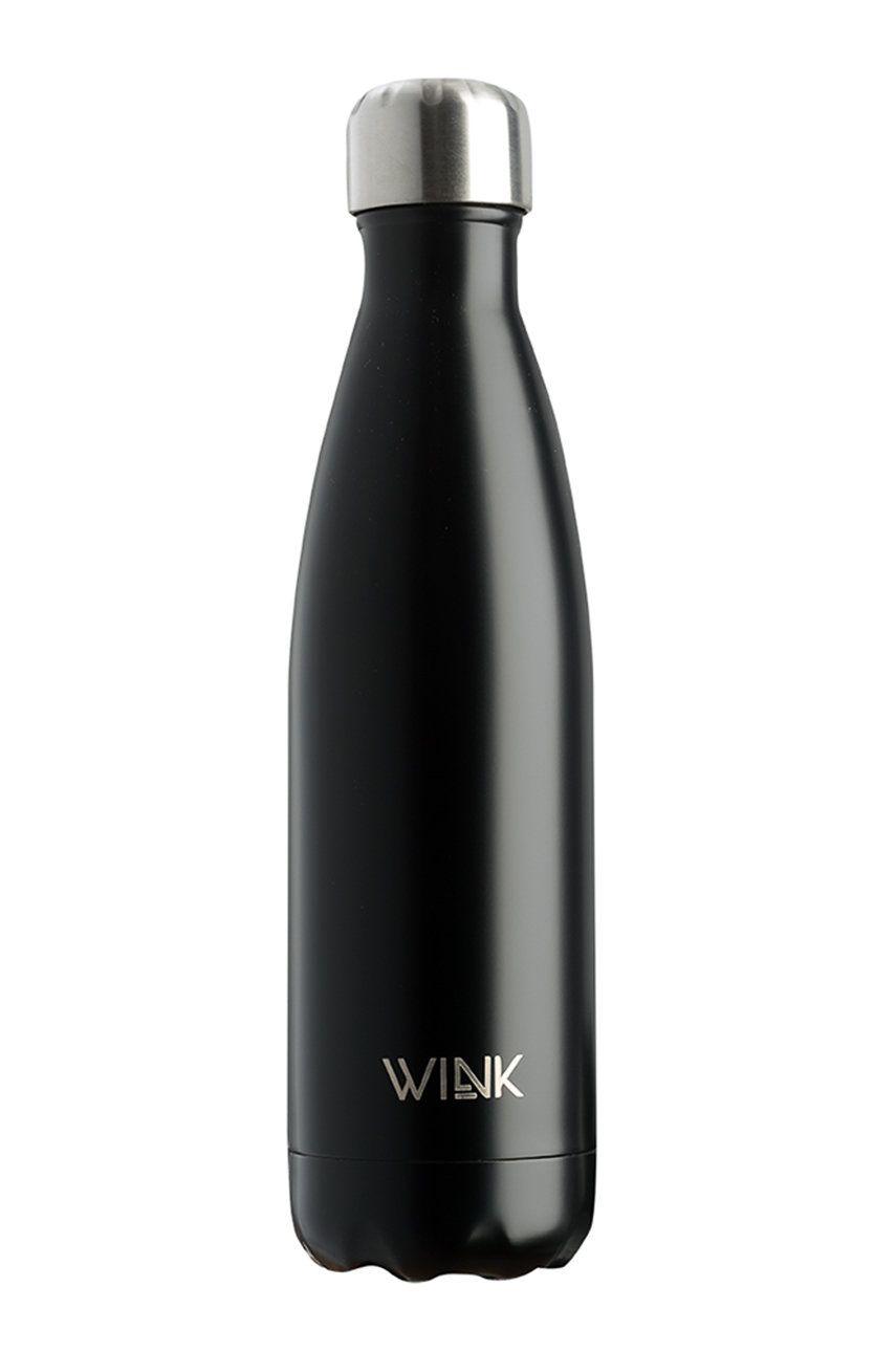 Wink Bottle - Sticla termica BLACK 500 imagine