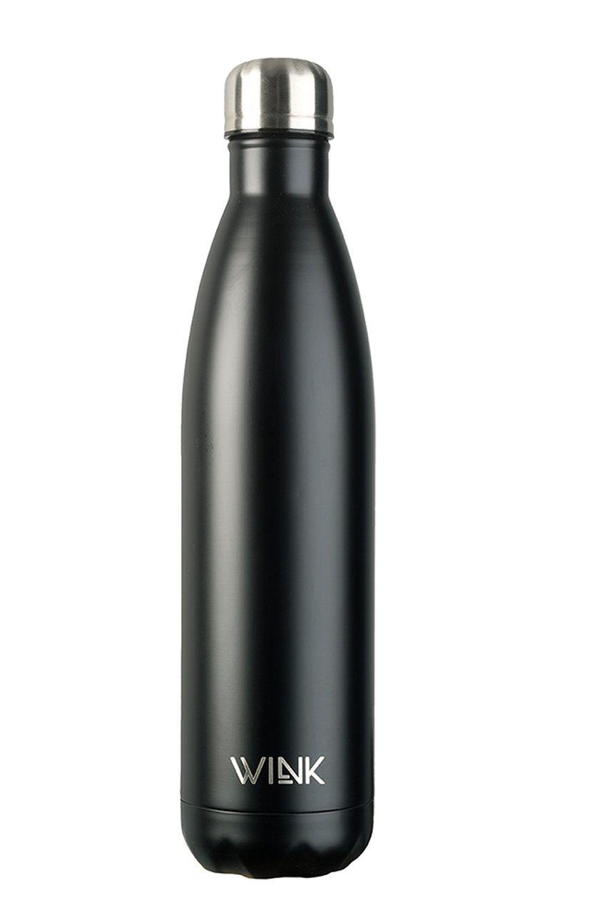 Wink Bottle - Sticla termica BLACK 750 poza answear