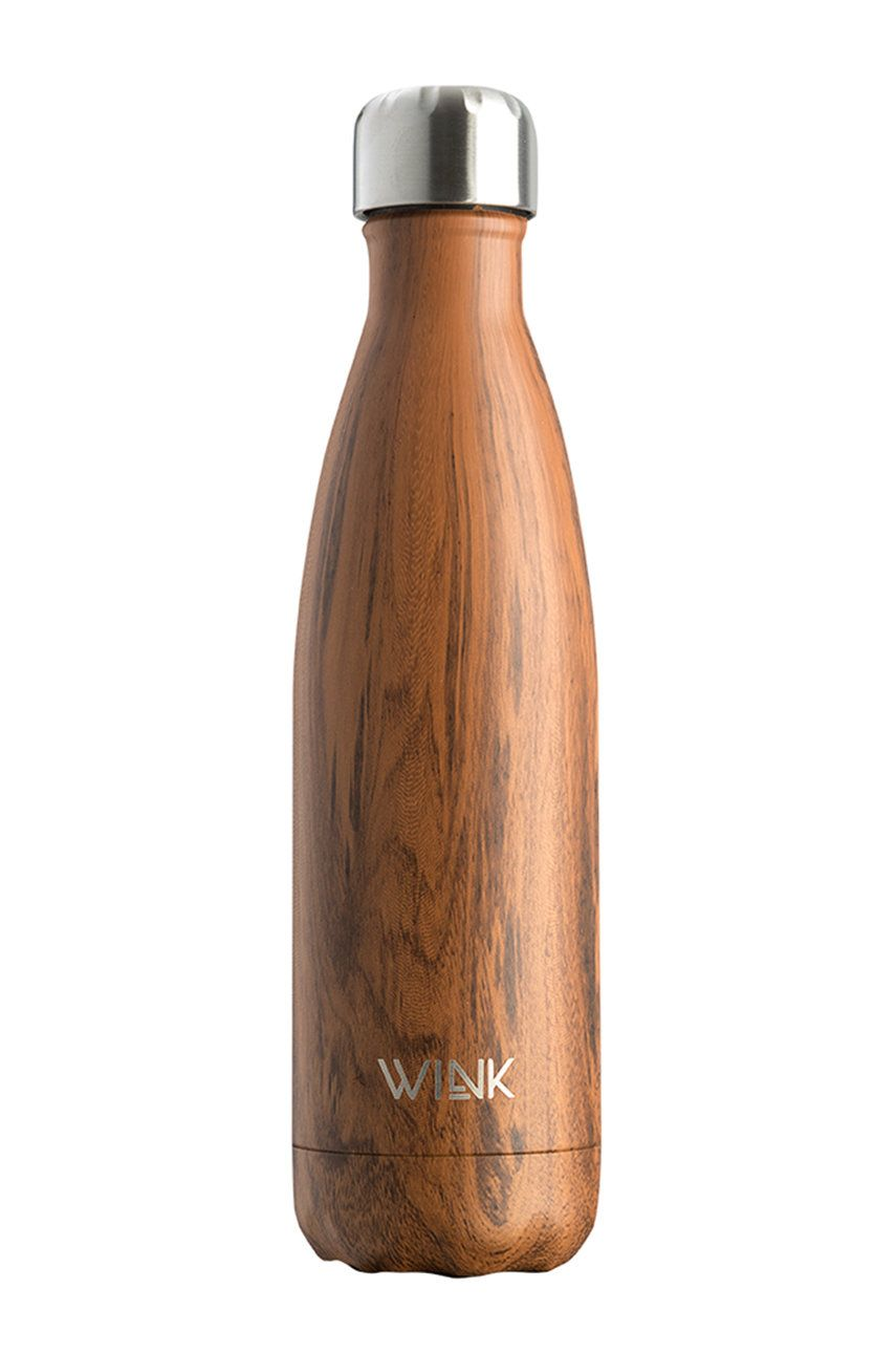 Wink Bottle - Sticla termica BRIGHT 500 WALNUT imagine