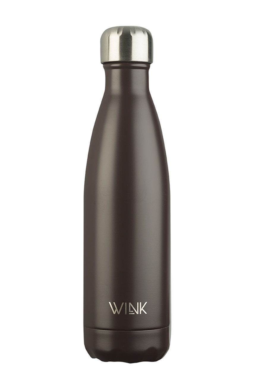 Wink Bottle - Sticla termica BROWN imagine