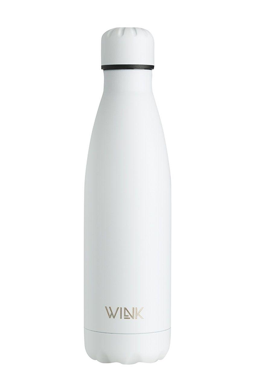 Wink Bottle - Sticla termica WHITE MATTE imagine