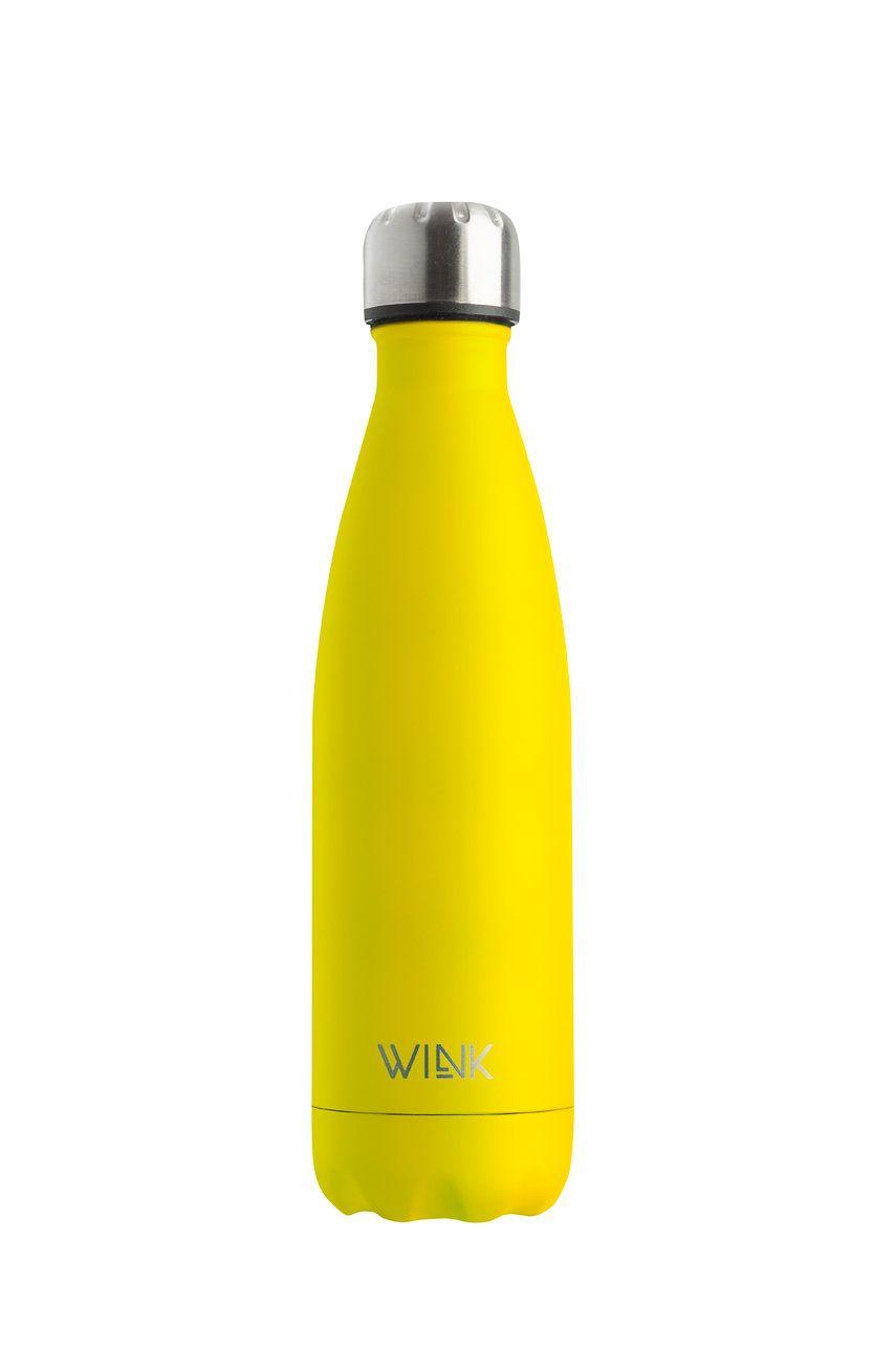 Wink Bottle - Sticla termica YELLOW imagine