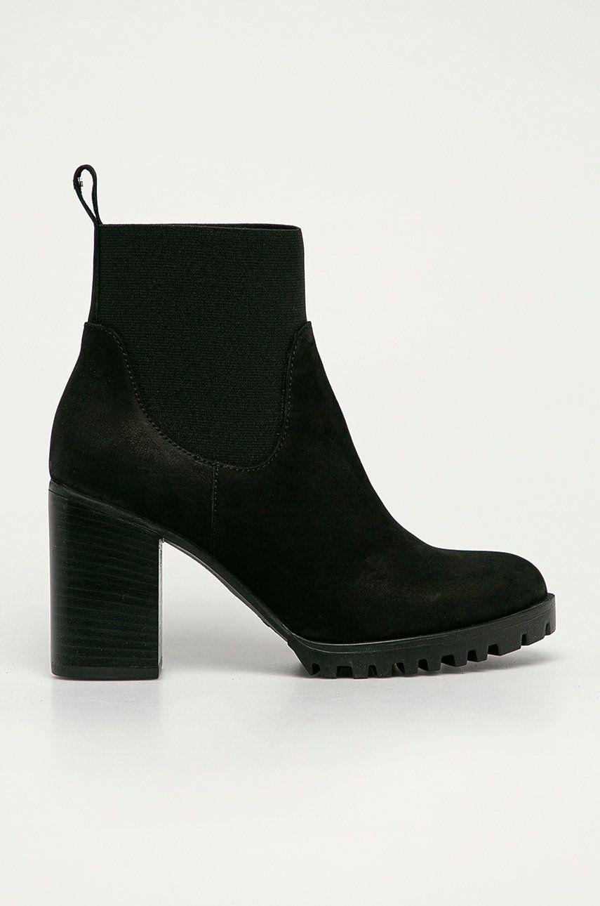 Wojas - Semišové kotníkové boty