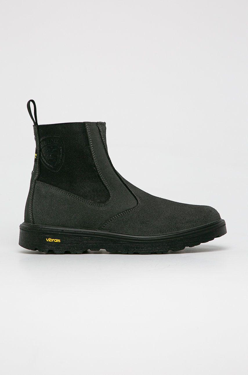 Blauer - Semišové kotníkové boty
