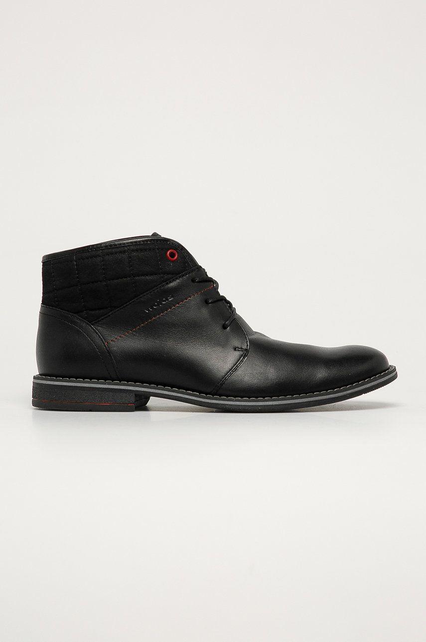 Wojas - Pantofi inalti de piele poza answear