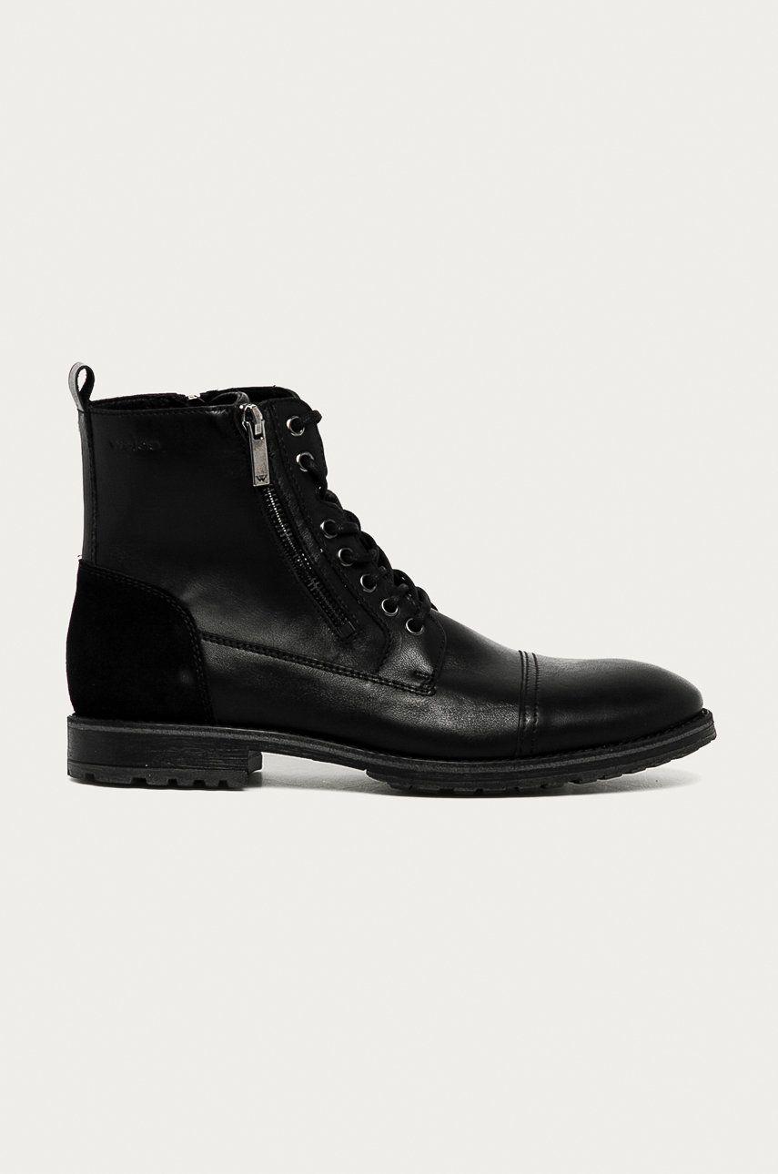 Wojas - Pantofi inalti de piele imagine answear.ro 2021