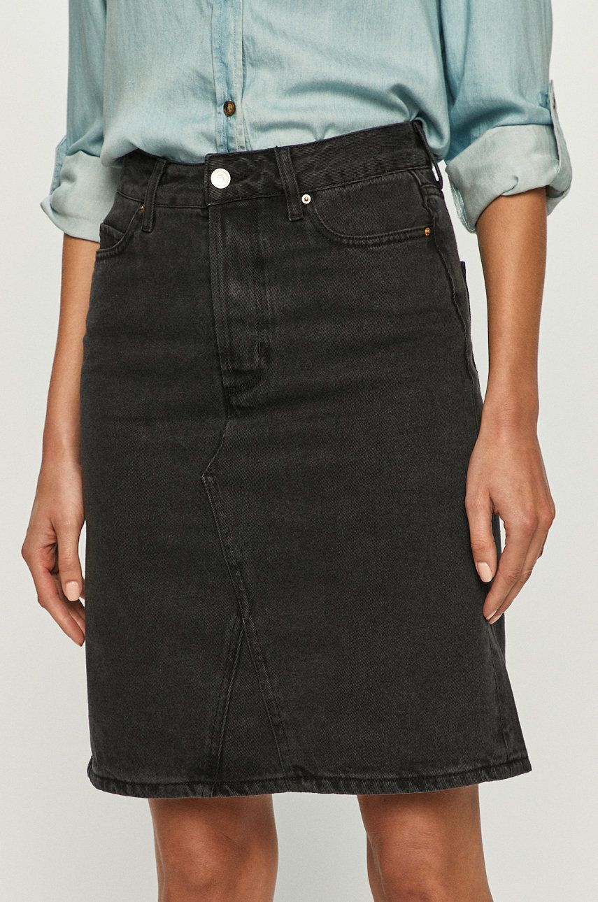 Cross Jeans - Fusta jeans de la Cross Jeans