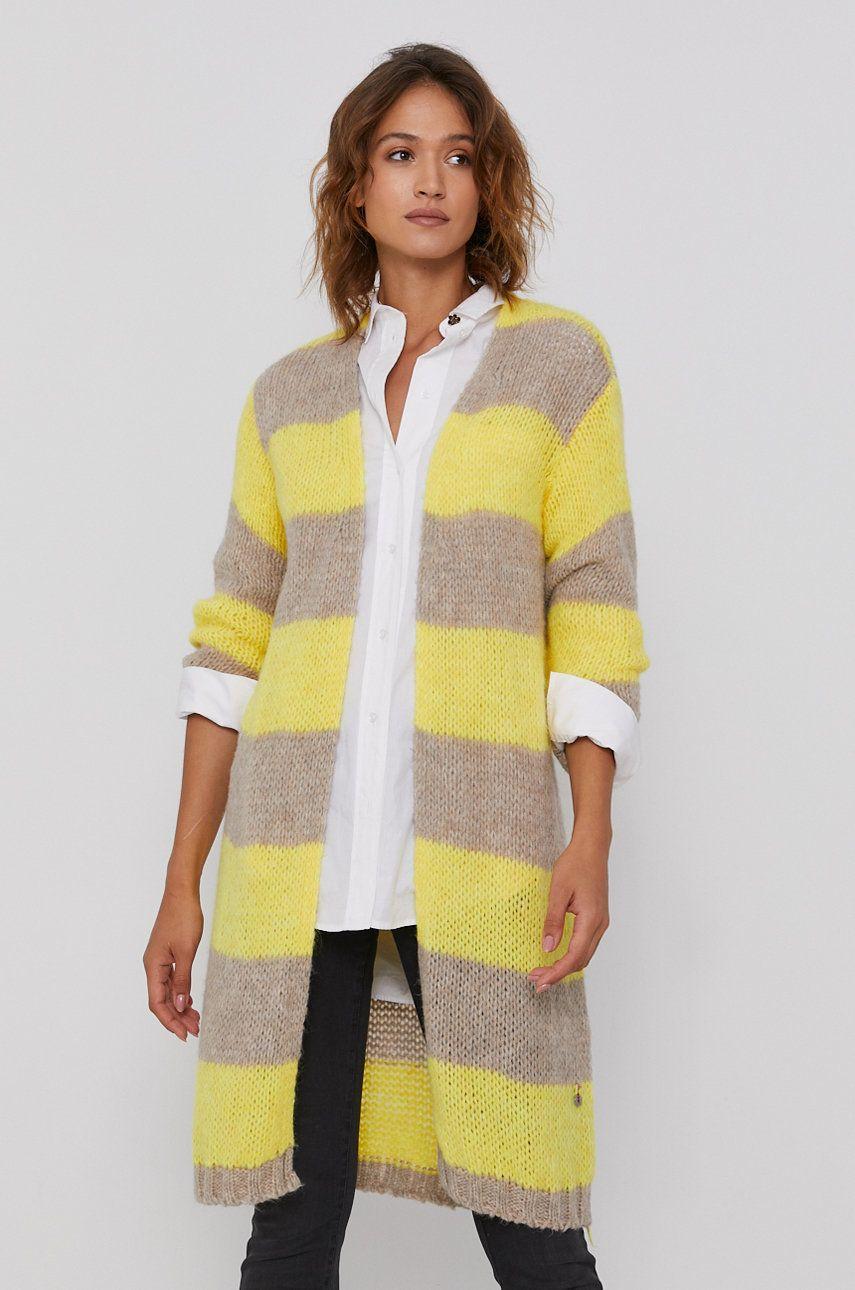 Frieda & Freddies - Pulover din amestec de lana